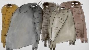 Les elephants proslider